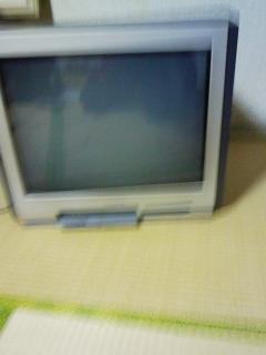 東芝製テレビ【21Z6SL】 前から撮った写真